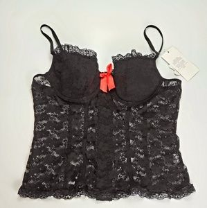 Other - NWT Black Lacey Corset Top Sexy Lingerie Size 3X